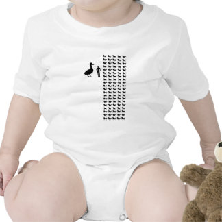 Horse-sized Duck vs 100 Duck-sized Horses Baby Bodysuit