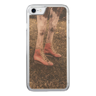 Horse skates carved iPhone 8/7 case