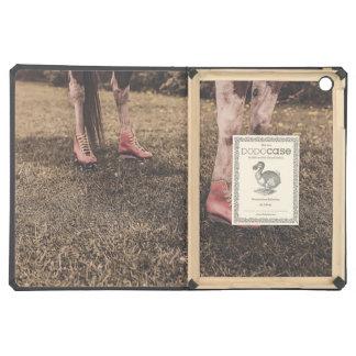 Horse skates iPad air case