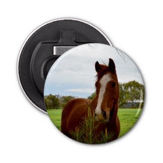 Horse Sniff, Magnetic Bottle Opener. Bottle Opener