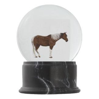 Horse Snow Globe