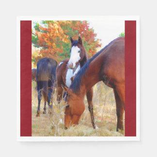 Horse Standard Luncheon Napkin Paper Napkins