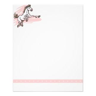 Horse Stationery 11.5 Cm X 14 Cm Flyer