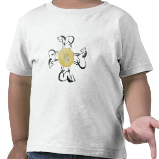 Horse- the Four Direction, Sumi-e T-shirt