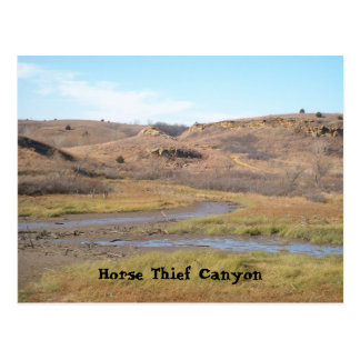 Horse Thief Canyon Postcard