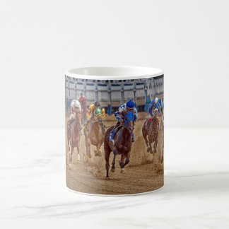 Horse Thoroughbred Racing First Turn Mug