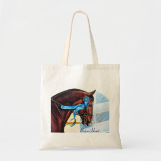 horse Tote bag - Brave Heart