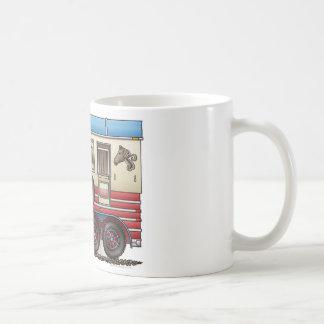 Horse Trailer Camper Coffee Mug