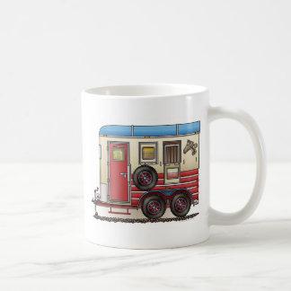Horse Trailer Camper Coffee Mugs