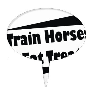 Horse Trainer Cake Toppers