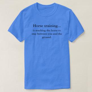 Horse training vs horsemanship T-Shirt