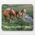 Horse Trio Mousepad