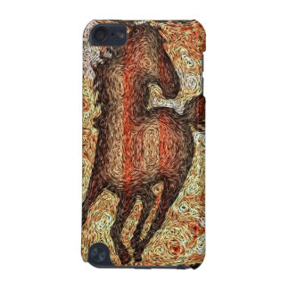 HORSE VAN GOGH STYLE iPod Touch Case