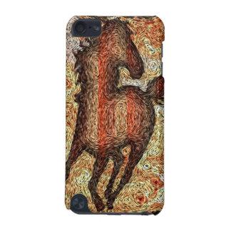 HORSE VAN GOGH STYLE iPod Touch Case