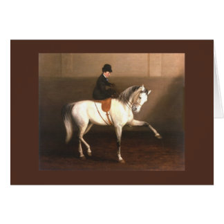 Horse Vintage Greeting Card