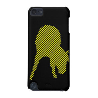 Horse Warning Tape Silhouette Ipod Touch case