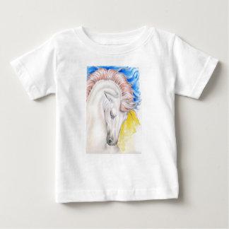 Horse Watercolor Art Baby T-Shirt