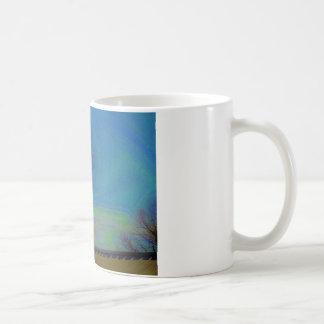 Horse Weather Vane colorful Sky Coffee Mug
