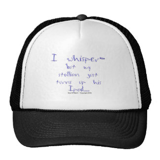 Horse Whisperer: stallion Ipod Cap