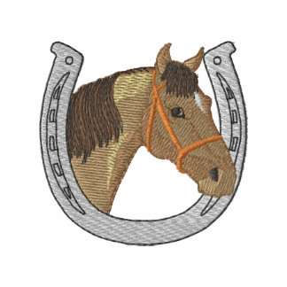 Horse with Horseshoe Polo
