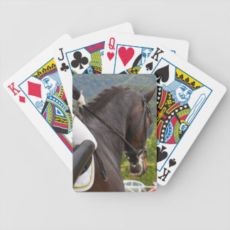 Horse with Raising Bicycle Playing Cards