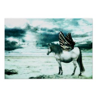 horse with wings poster