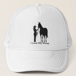 Horse Woman - I Love My Horse Hat