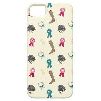 Horseback Riding in a modern style Barely There iPhone 5 Case