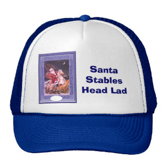 Horseback Santa Trucker Hats
