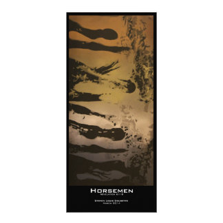 """Horsemen"" Value Bookmarks Rack Card"