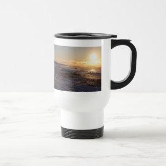 Horseneck Beach Snowy Sunrise Mug