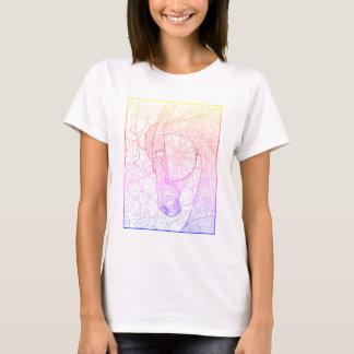 Horsepower Line Art Design T-Shirt