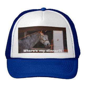 horses 006, Where's my dinner?! Mesh Hat