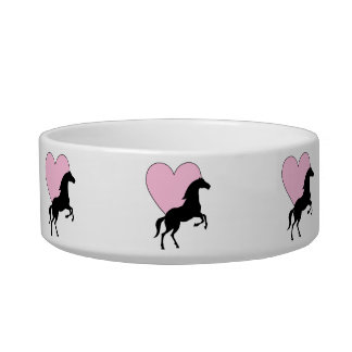 Horses and Love Bowl