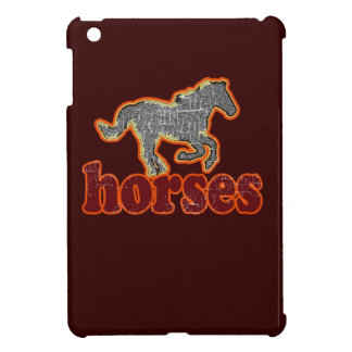 horses animal farm country style iPad mini covers