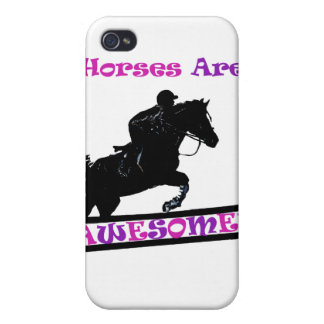 Horses Are Awesome Covers For iPhone 4