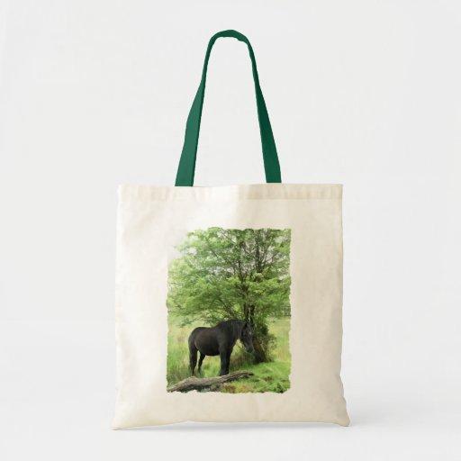 HORSES CANVAS BAG