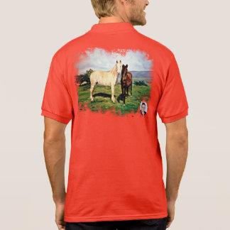 Horses/Cabalos/Horses Polo Shirt
