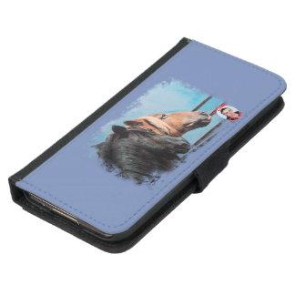 Horses/Cabalos/Horses Samsung Galaxy S5 Wallet Case