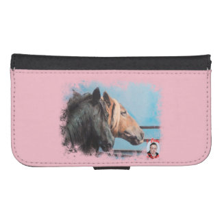 Horses/Cabalos/Horses Samsung S4 Wallet Case