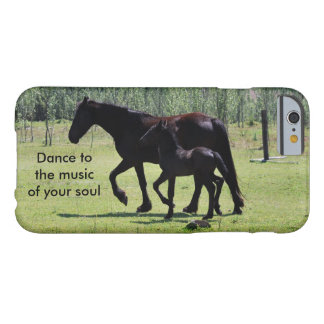 Horses dance to the music barely there iPhone 6 case