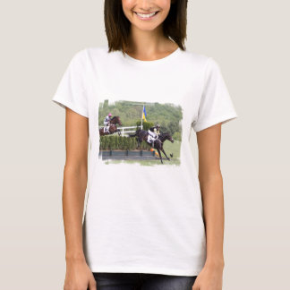 Horses Eventing  Ladies T-Shirt