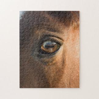 Horses Head Puzzle/Jigsaw Puzzle