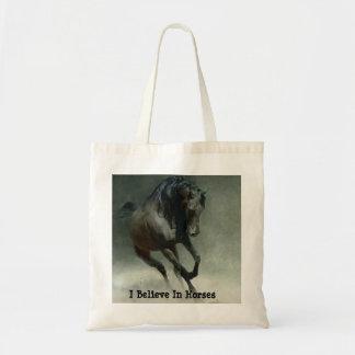 Horses I Believe Tote Bag