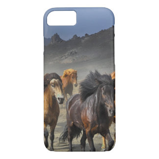 Horses in a shoot iPhone 8/7 case