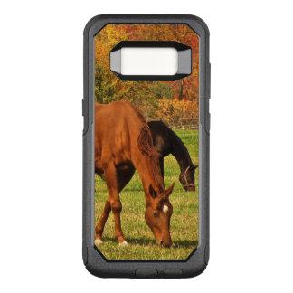 Horses in Autumn OtterBox Samsung Galaxy S8 Case