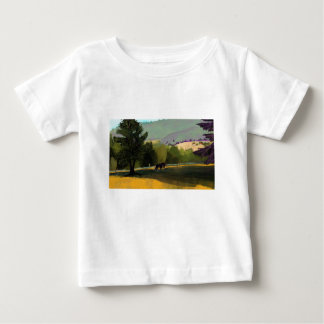 HORSES IN FIELD BABY T-Shirt