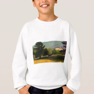 HORSES IN FIELD SWEATSHIRT