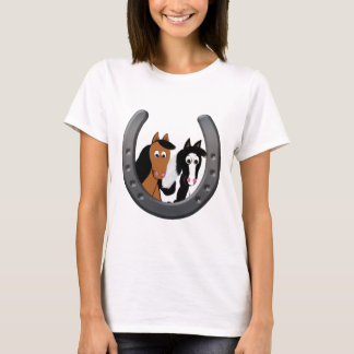 horses in horseshoe T-Shirt
