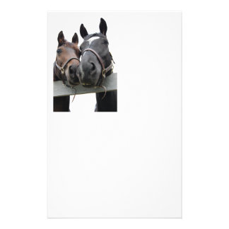 Horses in Love Custom Stationery